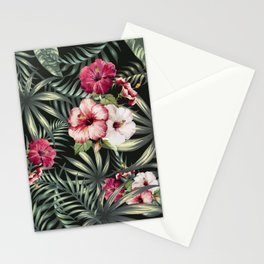 Tropical leave pattern 11.1 Stationery Cards