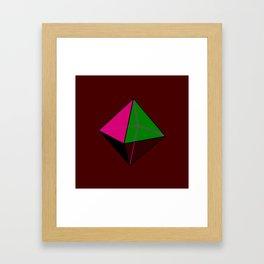 Octahedorn Framed Art Print