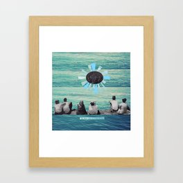Time to Sail Framed Art Print