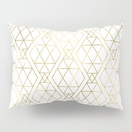 Modern Art Deco Geometric 1 Pillow Sham