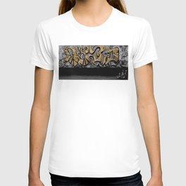 The Cover Up Orange Graffiti T-shirt