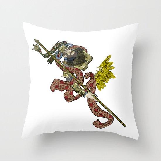 CORN OR MAIZE  Throw Pillow