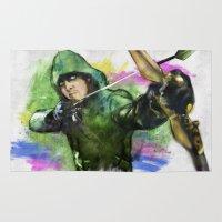 arrow Area & Throw Rugs featuring arrow by evenstarss
