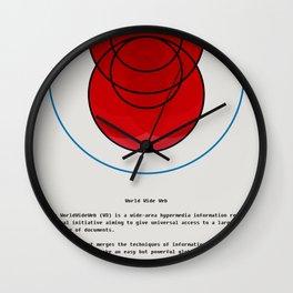 theweb01.png Wall Clock
