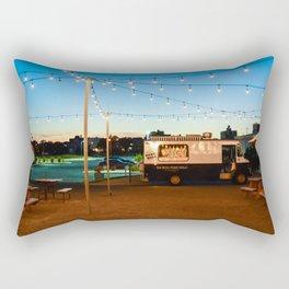 Closing time Rectangular Pillow