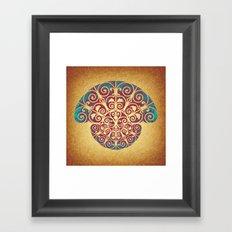 Medusa Barroca Framed Art Print