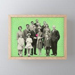 Faking Happiness Framed Mini Art Print