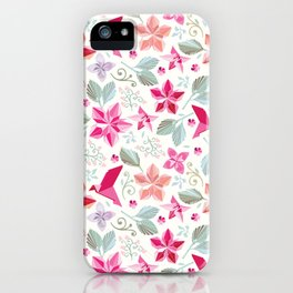 Nature unfolded iPhone Case