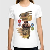 burger T-shirts featuring Burger by Lerson