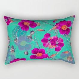 flowers / 72 Rectangular Pillow