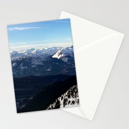 Crispy light air up here Stationery Cards