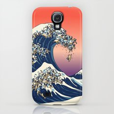 The Great Wave of Pug Slim Case Galaxy S4