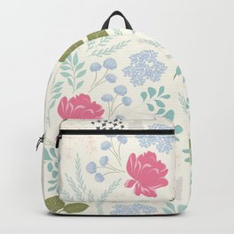 Ella Floral Pattern Backpack