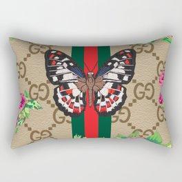 Guci Butterfly Rectangular Pillow