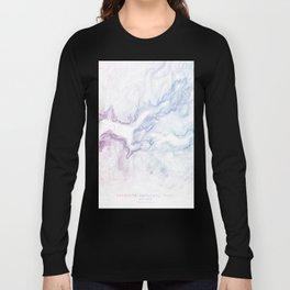 Yosemite National Park Half Dome Print Long Sleeve T-shirt