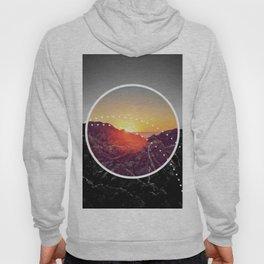 Peel Sunset - Circle graphic Hoody