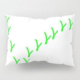 V wie Vegan   (A7 B0076) Pillow Sham