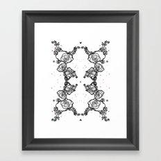 Love L Framed Art Print