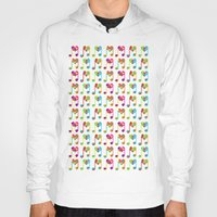 music notes Hoodies featuring Love Notes by Sophia Murray