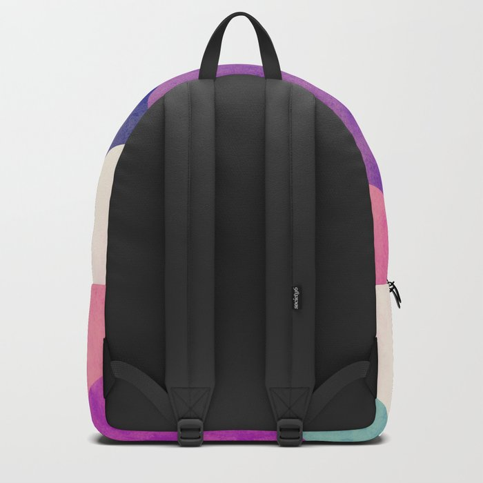 RubyTres Textured Backpack