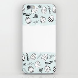 easter background iPhone Skin