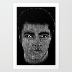 Mohamed Ali 2 Art Print