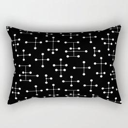 Atomic Era Dots 31 Rectangular Pillow