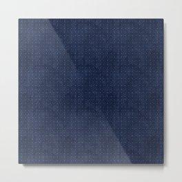 blue pattern 4  Metal Print