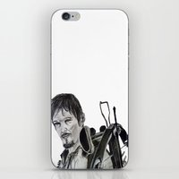 daryl iPhone & iPod Skins featuring Daryl Dixon by Brittany Ketcham
