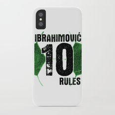 Ibrahimovic 10 Rules Slim Case iPhone X