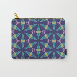 Pompei floral at night pattern Carry-All Pouch