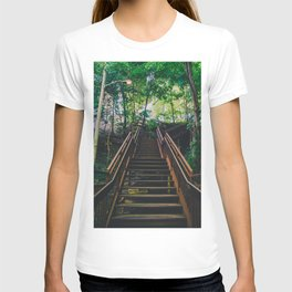 Stairs of Summer and Adventure T-shirt