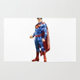 Superman Triangulation Rug