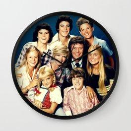 The Brady Bunch Wall Clock