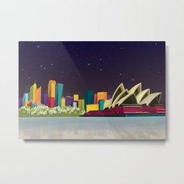 City Sydney Metal Print
