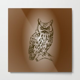 Great Owl Metal Print