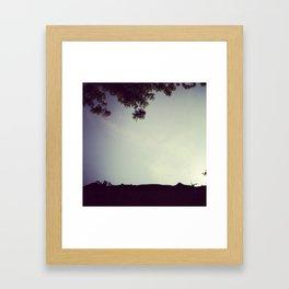 Tips and Tops Framed Art Print