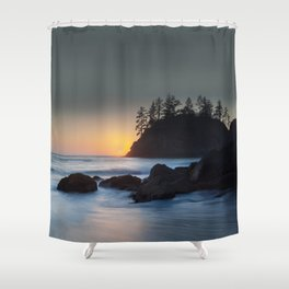 Pewetole Sunset Shower Curtain