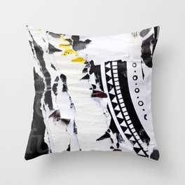 Electromagnetic Pulse Throw Pillow