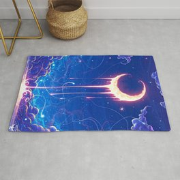 MOON-ART Dripping Rug