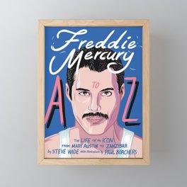 Freddie Queen mercury Framed Mini Art Print