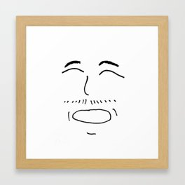 Happy Framed Art Print
