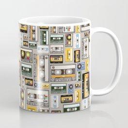Retro cassette tape pattern 3 Coffee Mug