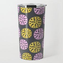 Sundial, 1950's inspired pattern Travel Mug