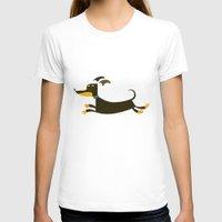 dachshund T-shirts featuring Dachshund by Fabio Rex