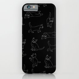 kitties everywhere iPhone Case