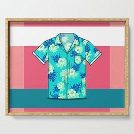 Hawaiian Shirt Serving Tray