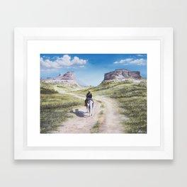 Open Spaces - Arthur Morgan Framed Art Print