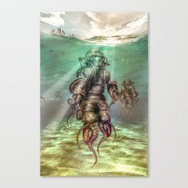 Aquanauts - Tales from under the sea Canvas Print