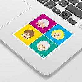 The Golden Girls - Pop Art Style Sticker
